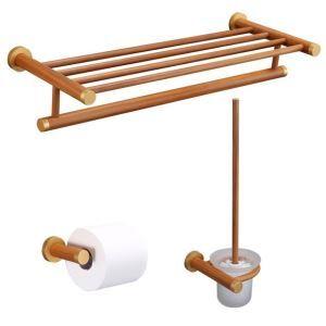 Style européen simple Accessoires de salle de bain Porte-serviettes Porte-papier support de brosse de toilette