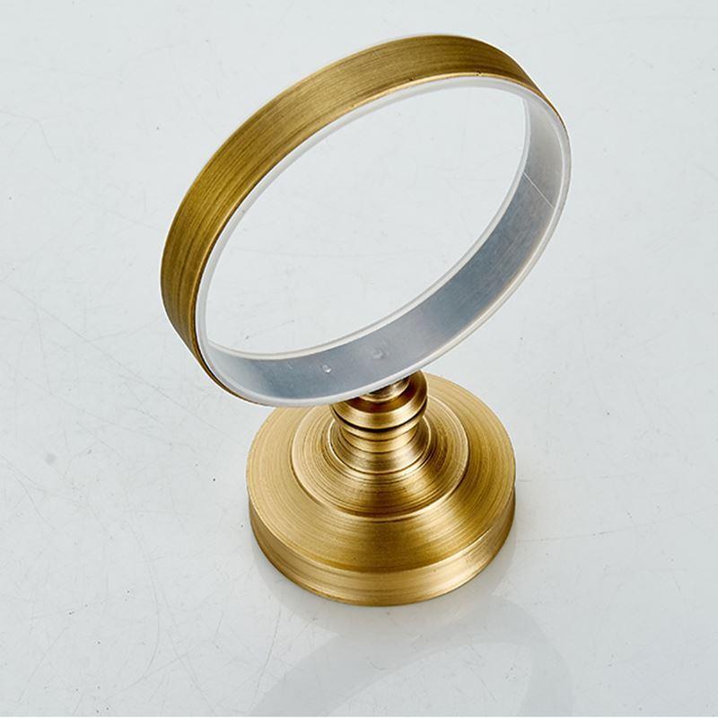 Bain porte brosse toilette entrep t ue style for Accessoire salle de bain cuivre