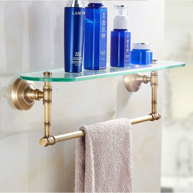 Bain etag res de salle de bains entrep t ue style for Accessoire salle de bain retro