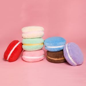 Oreiller Macaron couleurs de bonbons à la main multifonction créatif plus chaud
