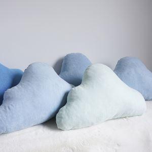 Fait à la main Nuages suède coussins de canapé Oreiller voiture créatif oreiller lombaire Petit