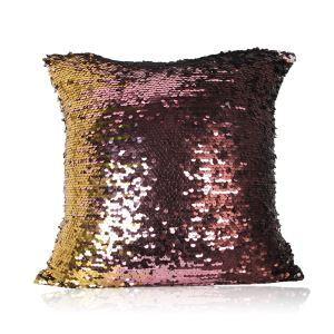 Sirène paillettes de mélange Perles de couleur dégradé Mode casual sofa coussin de voiture