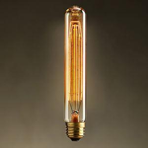 (Entrepôt UE) 40W E27 Rétro/Vintage Edison Lumière ampoules T30 halogènes