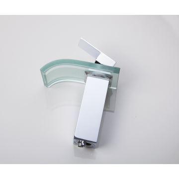 entrept ue robinet de lavabo en verre ontemporain chrom led pour salle de bain - Lavabo Salle De Bain En Verre