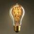 Afficher les détails pour (Entrepôt UE) 40W E27 Rétro/Vintage Edison ampoule pour luminaire A19 Ampoules halogènes