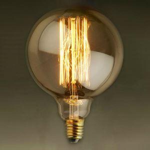 (Entrepôt UE) 40W E27 Rétro/Vintage Edison ampoule pour luminaire G95 Ampoules halogènes