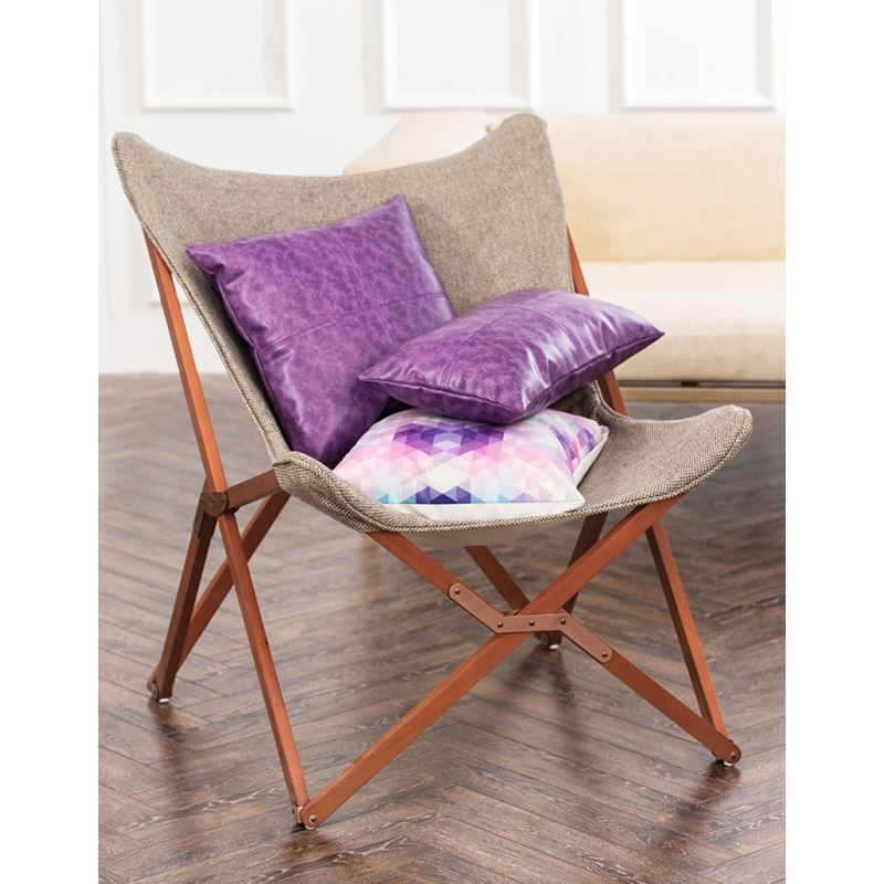 taie de coussin huile imitation violet en cuir haute qualit pour voiture bureau lombaire canap. Black Bedroom Furniture Sets. Home Design Ideas