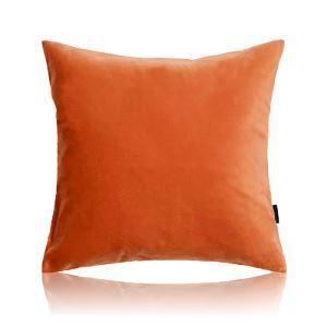 (Entrepôt UE) Moderne simple velour scouleur unie peluche canapé coussin oreiller voiture bureau 6 couleurs à choisir 30*50cm