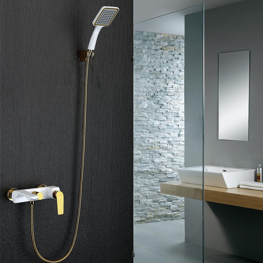 Salle De Bain Simple Et Moderne ~ entrep t ue mitigeur robinet de douche blanc style moderne simple
