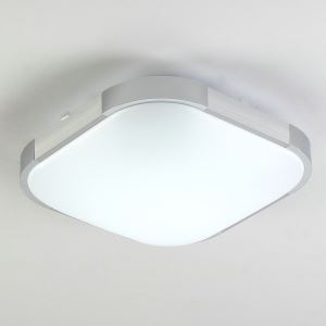 Plafonnier LED D30cm Aluminum Acrylique luminaire pour Couloir Salle de bain