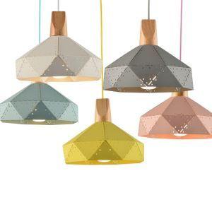 (Entrepôt UE)Suspension lustre simple européen lampe luminaire design pour cuisine couloir escalier en fer à 1 lampe