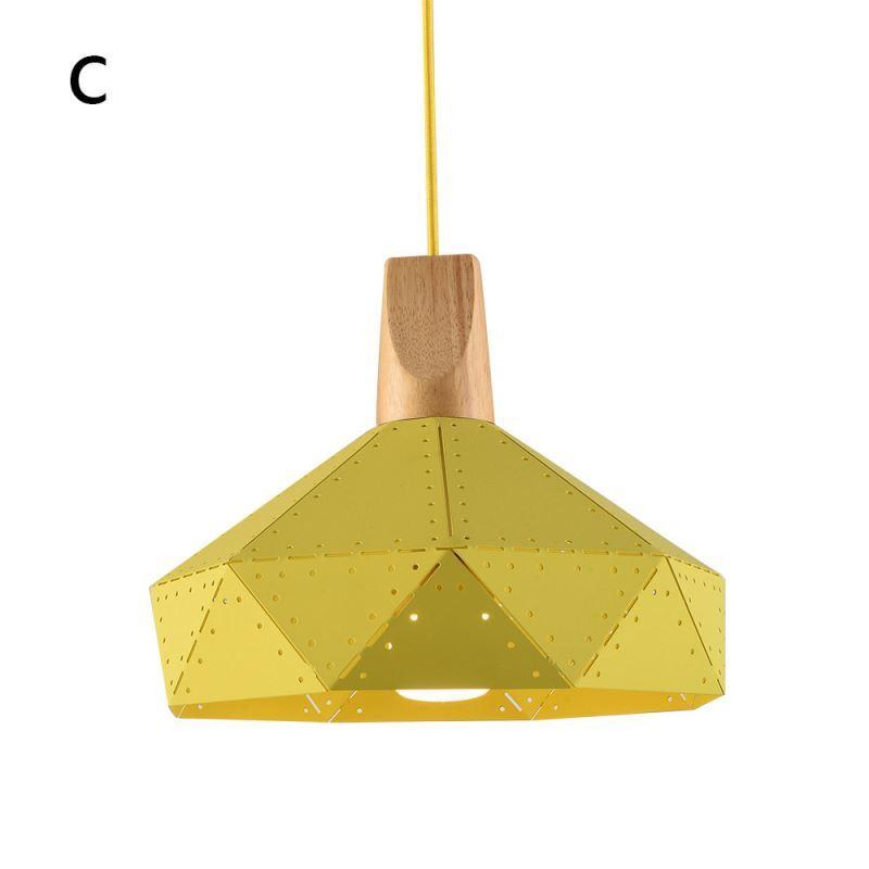 suspension en fer design d 30 cm color pour cuisine couloir escalier. Black Bedroom Furniture Sets. Home Design Ideas