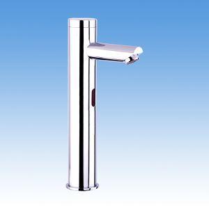 (Entrepôt UE) Chromé finition capteur mains libres robinet(froid) évier salle de bain contemporaine