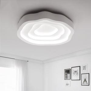 (Entrepôt UE) Moderne LED plafonnier Acrylique Lumière luminaire Chambre Cuisine