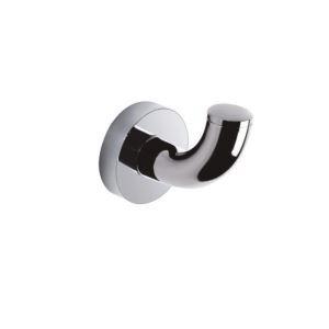 (Entrepôt UE) Fini Chrome contemporain en laiton accessoires de salle de bain Crochet