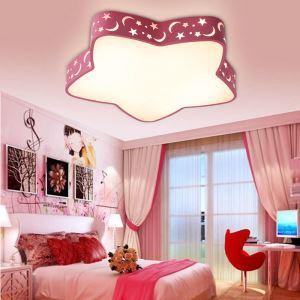 Plafonnier LED étoile de mer géométrique D 60 cm pour chambre d'enfant