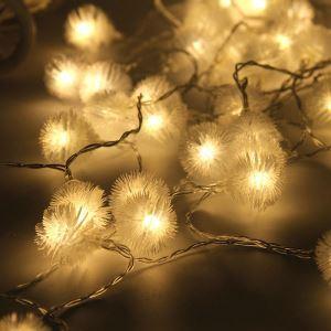 Guirlande lumineuse en forme de pissenlit LED design décoration pour Noël