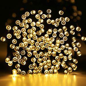 Guirlande lumineuse en forme de petite bulle 48 LED design extérieur décoration pour Noël