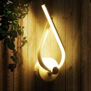 Applique murale LED design style moderne luminaire pour chambre couloir salle restaurant