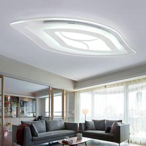 Plafonnier LED lampe de plafond pour salle à manger chambre luminaire feuille géométrique simple moderne à 3 modèles