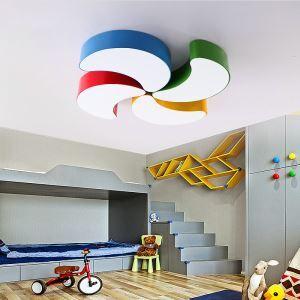 Plafonnier lampe de plafond pour chambre d'enfant couloir luminaire lune simple moderne à 5 modèles
