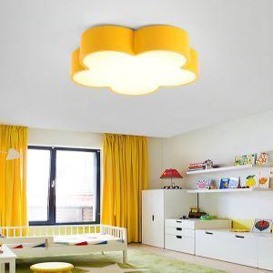 Plafonnier LED fleur créatif L 45 cm à 5 modèles lampe de plafond pour chambre d'enfant