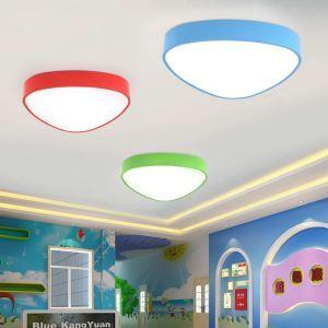 Plafonnier lampe de plafond pour chambre d'enfant couloir luminaire triangle  créatif simple moderne à 5 modèles