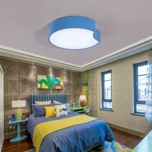 Plafonnier lampe de plafond pour chambre d'enfant couloir luminaire géométrique simple moderne à 3 modèles