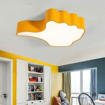 plafonnier lampe de plafond pour chambre d 39 enfant couloir luminaire pouce simple moderne. Black Bedroom Furniture Sets. Home Design Ideas