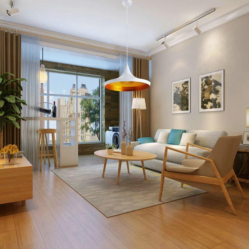 suspension en fer d 36 cm design noir style industriel luminaire pour cuisine couloir pas cher. Black Bedroom Furniture Sets. Home Design Ideas