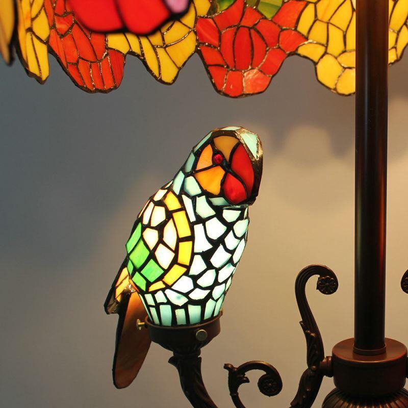 lampadaire 5 lampes perroquet h 165 cm d licate luminaire pour salon cuisine chambre. Black Bedroom Furniture Sets. Home Design Ideas