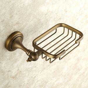 Porte de avons en cuivre étirage pour salle de bain rétro