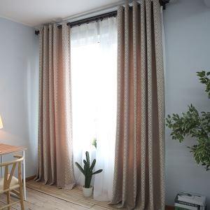 Rideau en coton lin écologique nouveau modèle simple