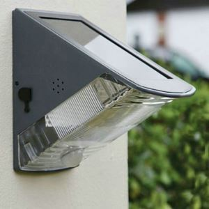 Applique murale à capteur solaire extérieure H 15.5 cm