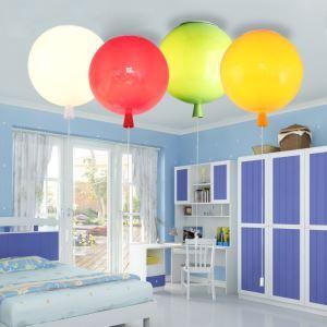 Plafonnier LED pvc ballon 5 couleurs pour chambre d'enfant salle