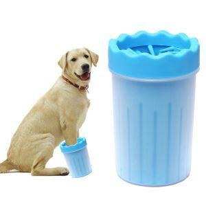 Petit gobelet de nettoyage de patte portable pour chien