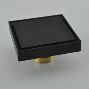 L'eau de drainage carré H53mm pour salle de bain