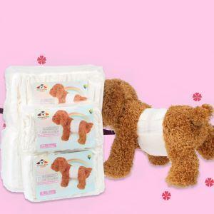 Couche-culotte d'animaux de compagniede chien mâles 12 par sac