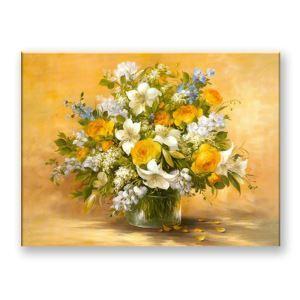 Tableau sans cadre vase 30*45*3cm