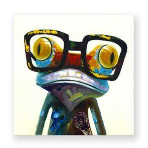 Tableau sans cadre grenouille 3 modèles