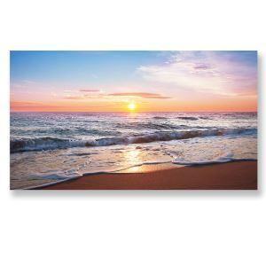 Tableau sans cadre lever du soleil 30*45cm