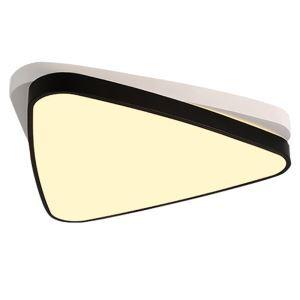 Plafonnier LED A+++ en acrylique L 48 cm pour salle chambre couloir