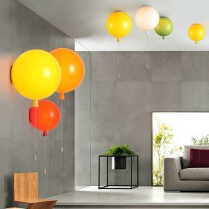 Applique LED ballon 5 couleurs pour chambre d'enfant salle