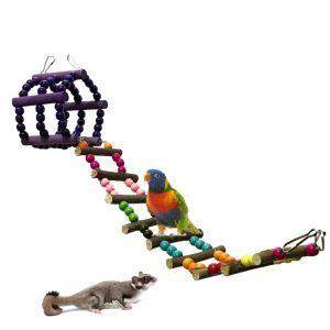 Echelle d'escalade plate-forme pour perroquet hamster