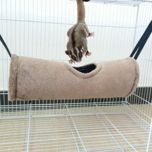 Hamac en coton tunnel chuad jouet de hamster