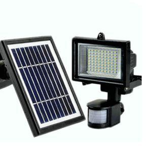 Lumière d'énergie solaire en aluminium L22.5cm noir pour cour extérieur