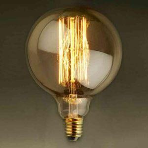 3 Edison ampoules LED 40W G95 D9.5cm
