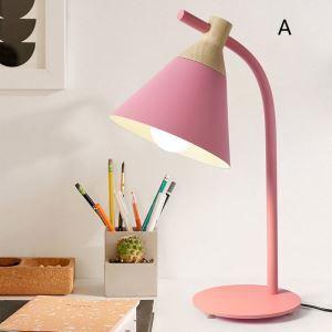 Lampe à poser ferronnerie H53cm pour bureau chambre post-moderne