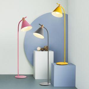 Lampadaire ferronnerie H133cm pour salle post-moderne