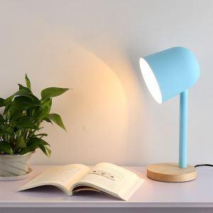 Lampe à poser ferronnerie H41cm pour chambre bureau simple